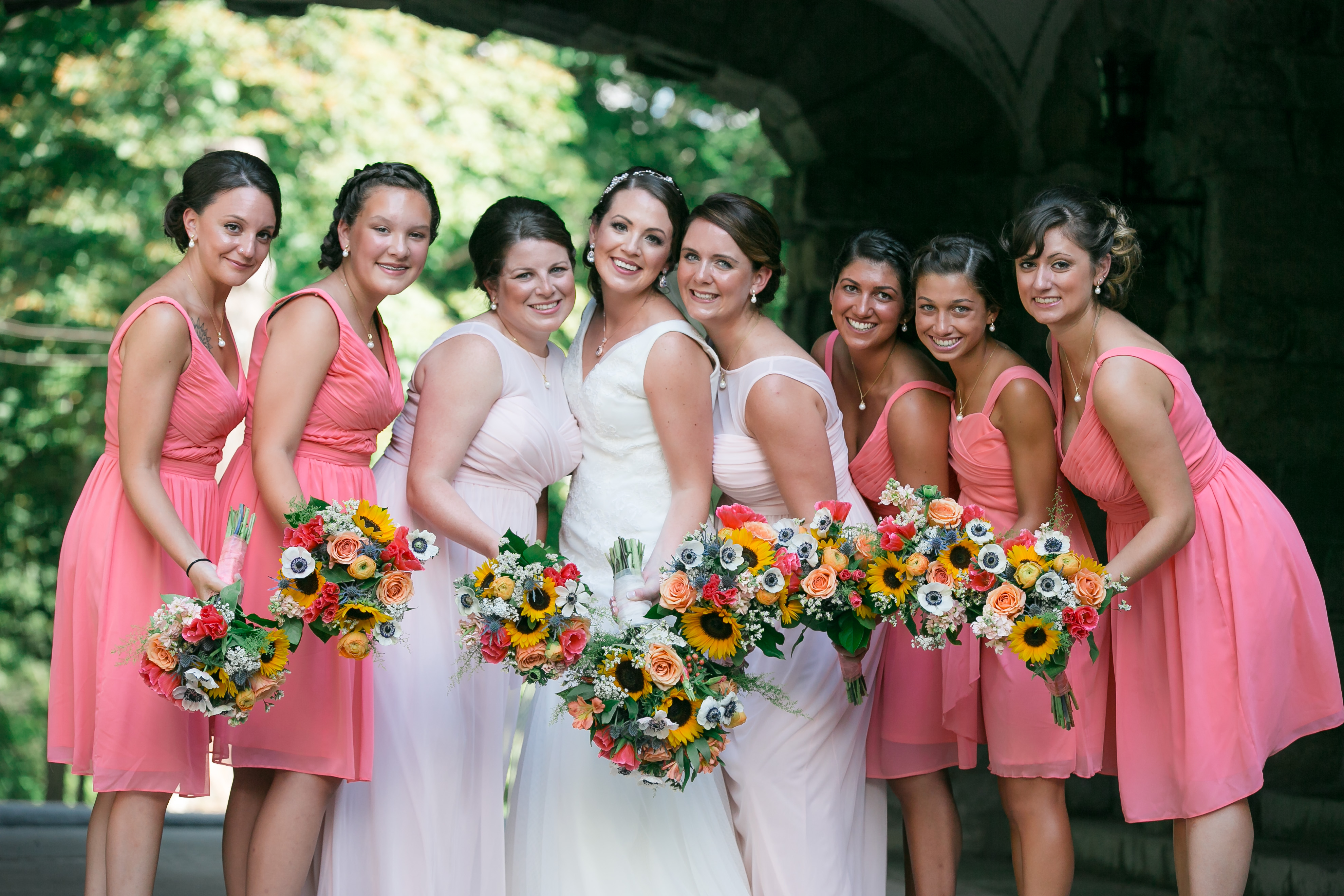 A Colorful Summer Wedding at Arrow Park